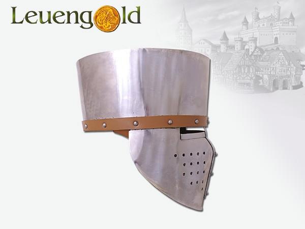 Kreuzfahrer-Topfhelm, ca.1180, 2mm Stahl