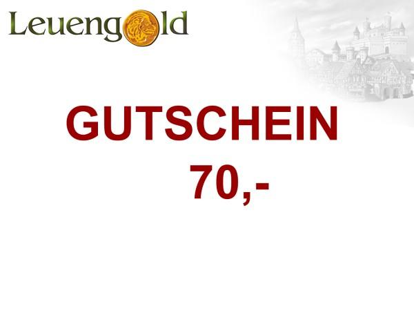 Gutschein 70,- Euro