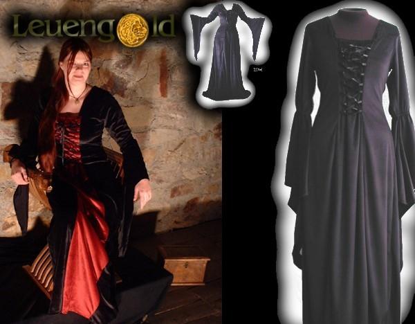 Mittelalterliches Samtkleid