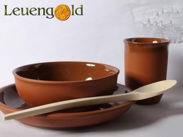 Ess Set aus Keramik