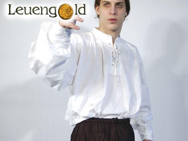 Mittelalterhemd mit Knöpfen an den Ärmeln