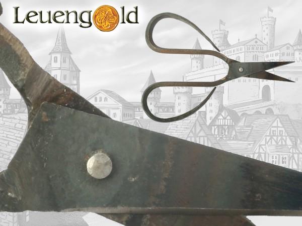 Mittelalter Schere, handgeschmiedet