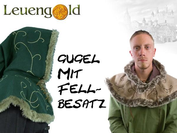epic Gugel mit Pelzbesatz, verschiedene Farben