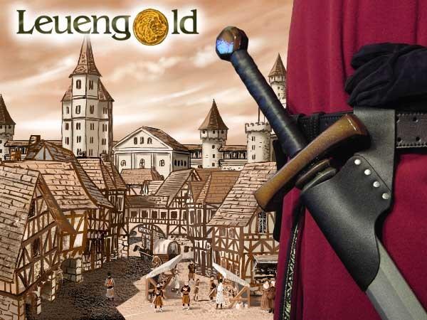 Leuengold Schwerthalter