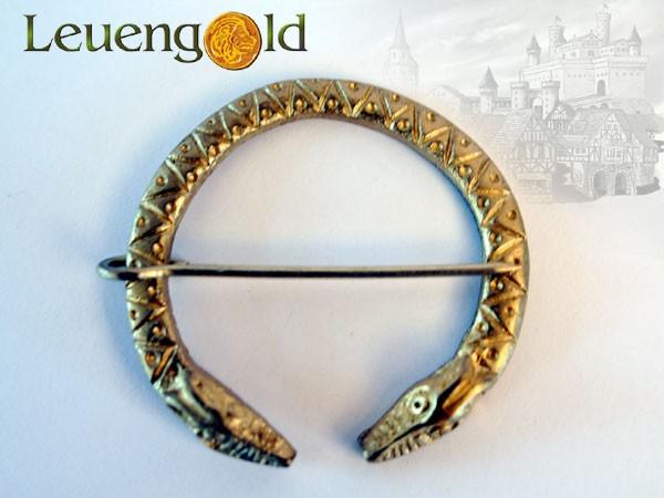Wikinger Ringfibel mit Drachenköpfen von GDFB